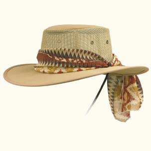 Ladies Canvas Drover Hat