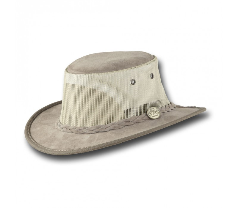 3c7aee45e5b The Narrow Brim Suede Cooler Hat by Barmah
